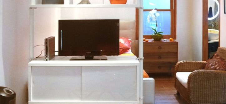 Ikea Stolmen for a Contemporary Bedroom with a Contemporary and Garage Conversion by Urban Oasis