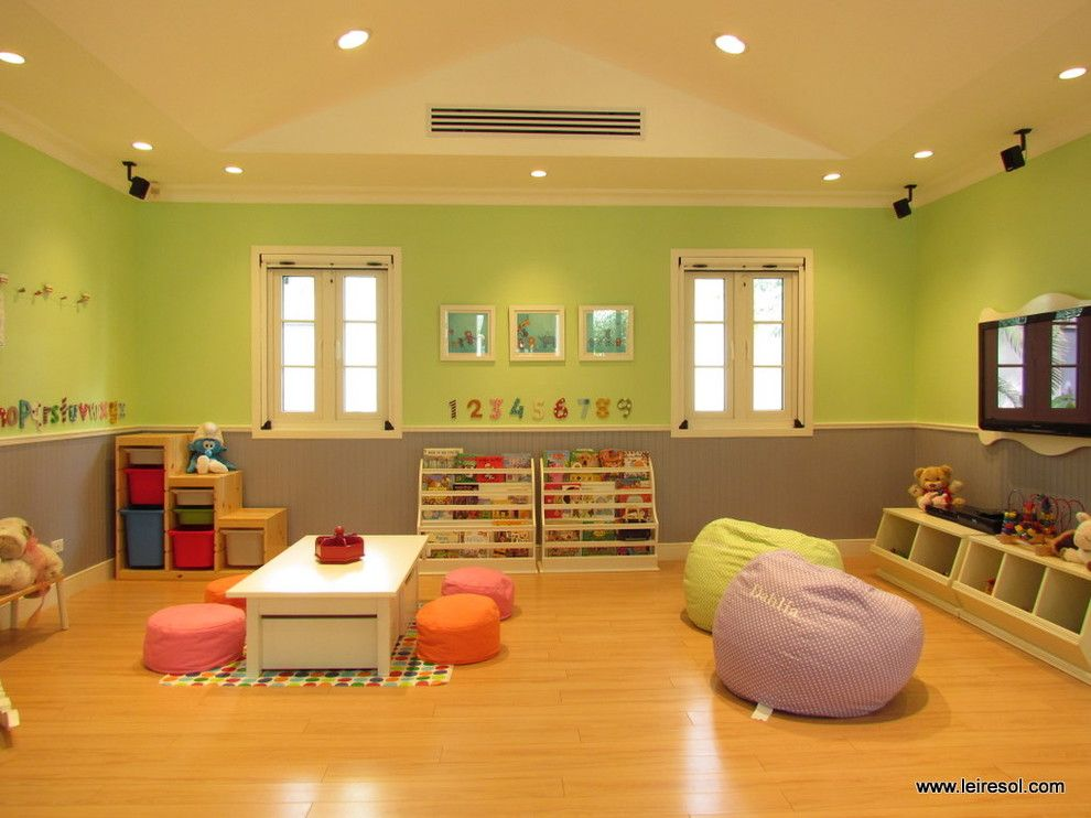 Ikea Trofast for a Modern Kids with a Modern and Play House by Leire Sol García Asch