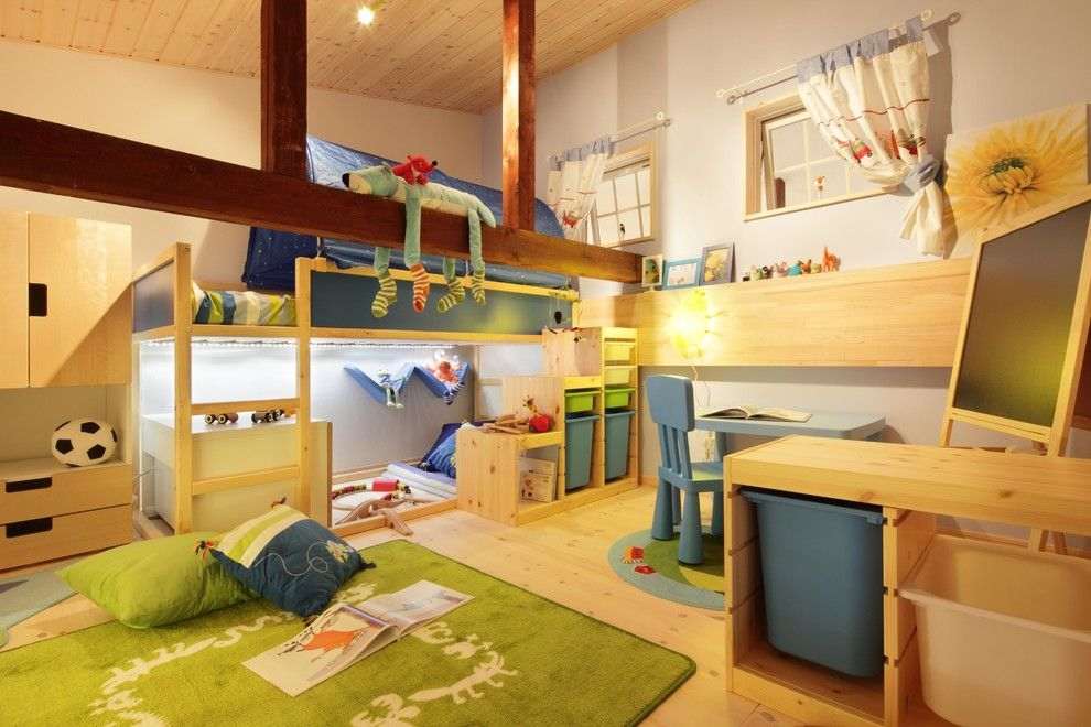 Ikea Trofast for a Scandinavian Kids with a Scandinavian and Dwarf House by Dwarf