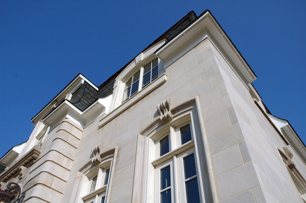 Indiana Limestone for a Traditional Exterior with a Bedford Limestone and Bedford Classic Indiana Limestone by Kgo Stone, the Natural Stone Company