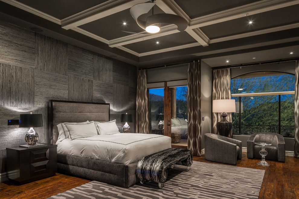 Interlachen Country Club for a Contemporary Bedroom with a Donghia and Firerock Country Club by Chris Jovanelly Interior Design