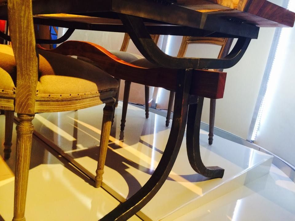 Iron Mountain Forge for a  Spaces with a  and Dining Tables by Iron Mountain Forge & Furniture