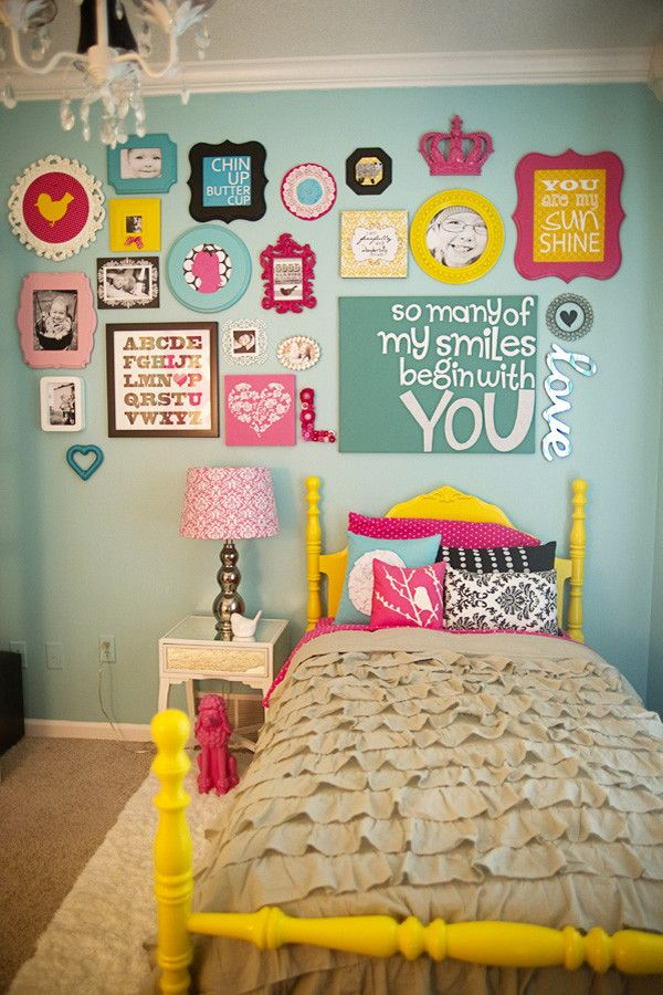 Issis for a Modern Kids with a Modern and London's Big Girl Room by Ginny Phillips