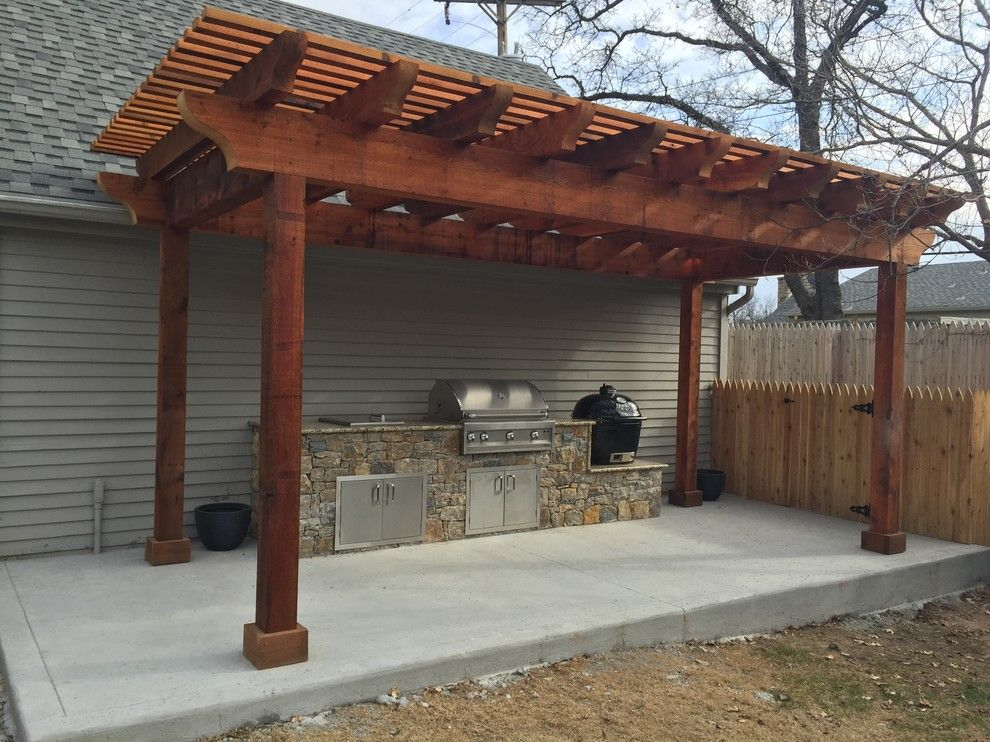 Jack Wills Tulsa for a Transitional Patio with a Outdoor Dining and Outdoor Kitchens by Jack Wills Patio & Fireplace