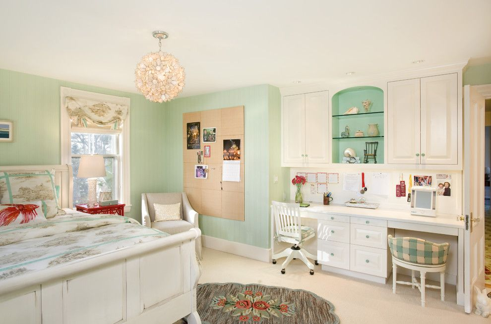 James Hardie Building Products for a Beach Style Kids with a Built in Desk and Karen Joy Interiors by Karen Joy Interiors