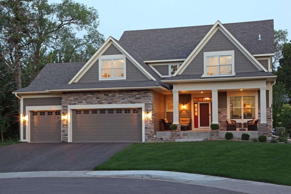 James Hardie Building Products for a Traditional Exterior with a Elevation and Ridgeview by Ridge Creek Custom Homes