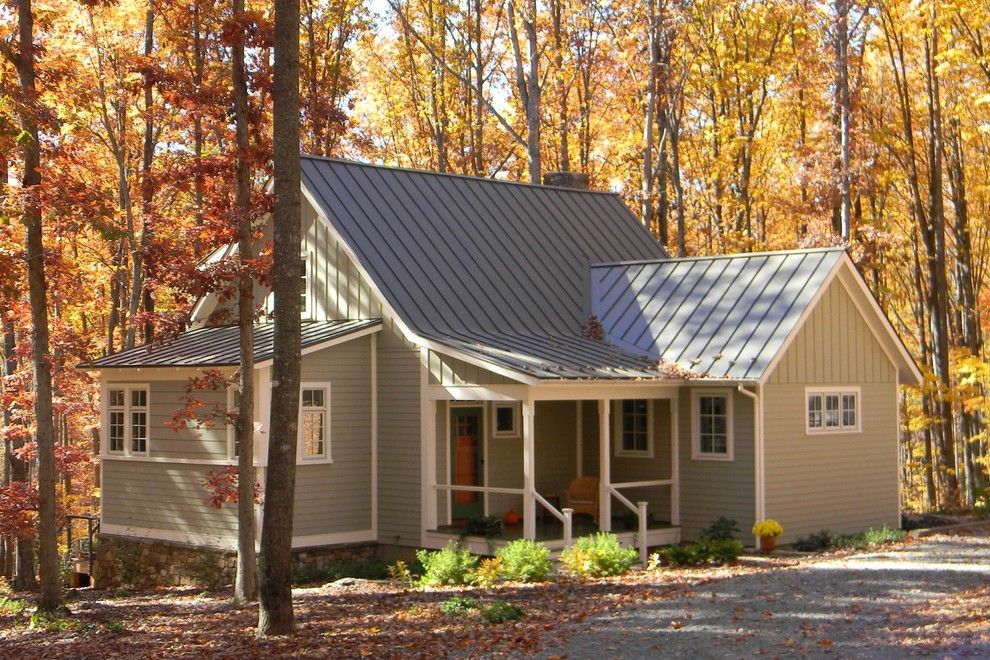 Jeff Lewis Paint for a Traditional Exterior with a Charlottesville and Lewis Residence by Sunbiosis Plc
