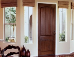 Jeld Wen for a Transitional Dining Room with a Jeld Wen Exterior Doors and JELD WEN Aurora Custom Fiberglass Doors by Renaissance Windows & Doors