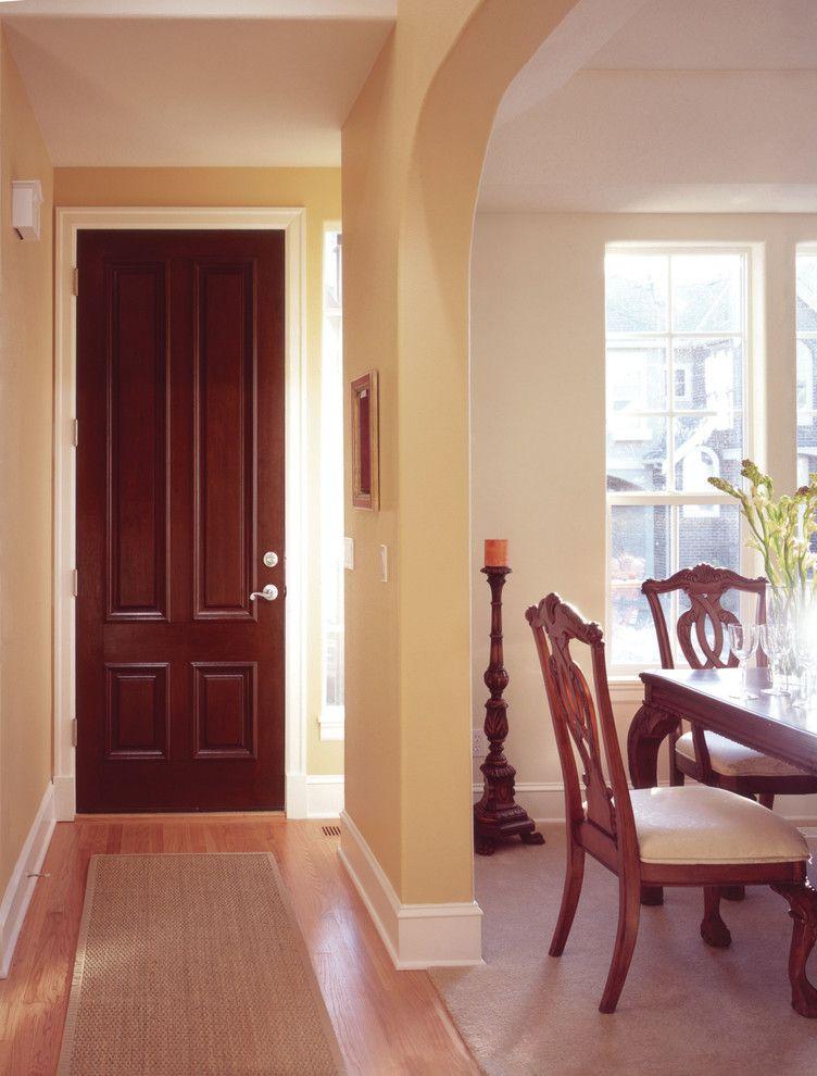 Jeld Wen for a Transitional Hall with a Custom Fiberglass Doors and Jeld Wen Aurora Custom Fiberglass Doors by Renaissance Windows & Doors