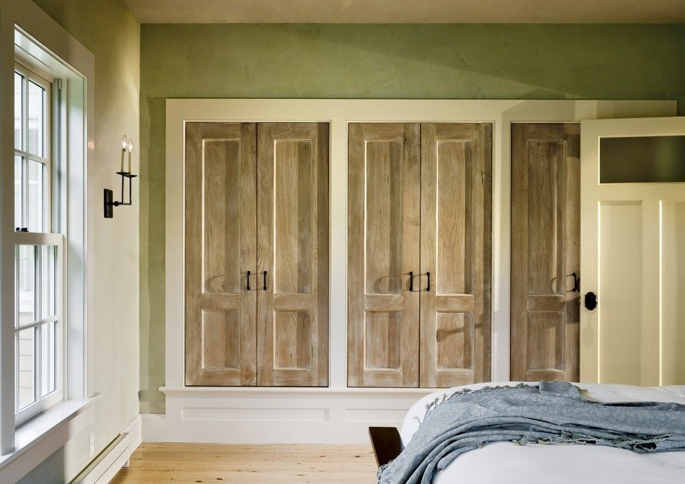 Jen Weld Doors for a Traditional Closet with a Built in Closet and Derby Hill Farm Lyme Nh by Smith & Vansant Architects Pc