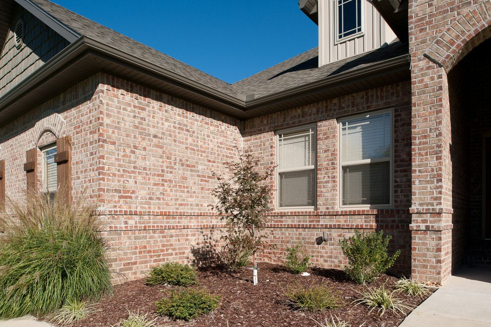 Jenkins Brick for a Traditional Exterior with a Mortar and Residential by Acme Brick Company