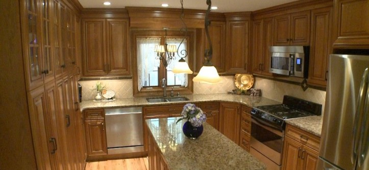 Jesco Lighting for a Mediterranean Kitchen with a Kitchen Decor and Jay M by Curtis Lumber Ballston Spa