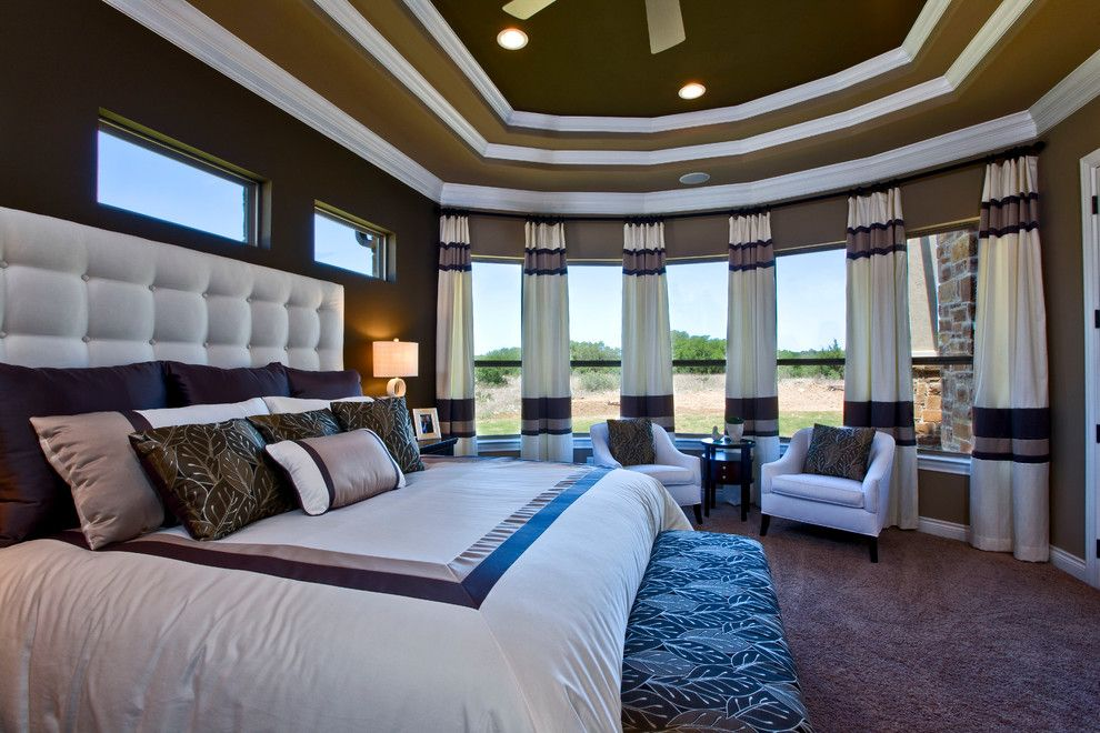Jimmy Jacobs Homes for a  Bedroom with a  and Jimmy Jacobs Custom Homes   Vintage Oaks by Mary Dewalt Design Group