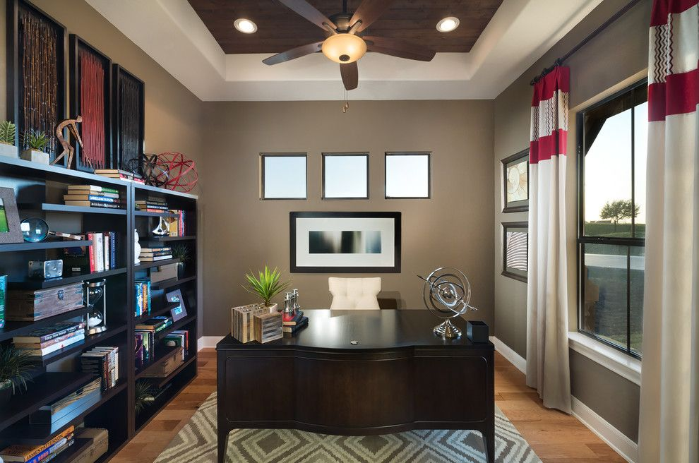 Jimmy Jacobs Homes for a Traditional Home Office with a Jimmy Jacobs and Long Creek by Jimmy Jacobs Homes