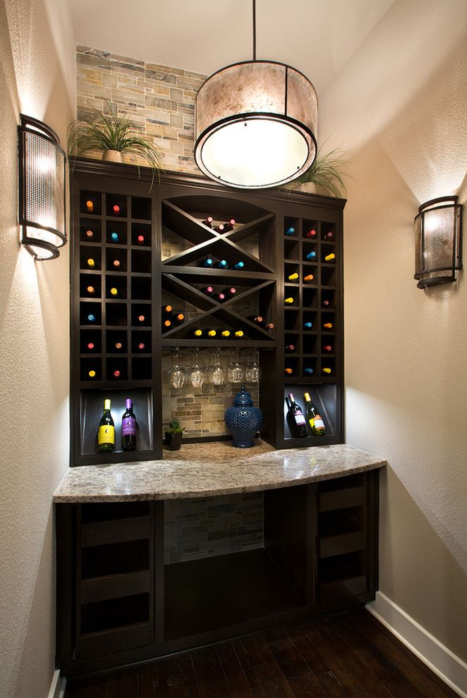 Jimmy Jacobs Homes for a Traditional Wine Cellar with a Traditional and Jimmy Jacobs Custom Homes  Canyons at Scenic Loop by Mary Dewalt Design Group