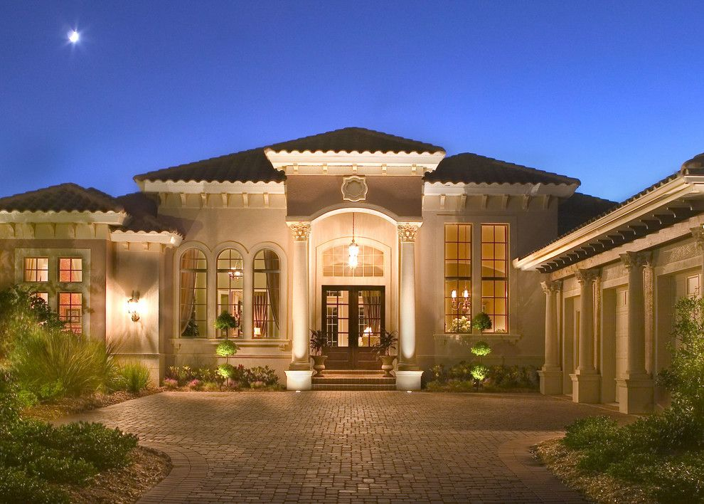 John Cannon Homes for a Mediterranean Exterior with a Lifestyle and the Kiah by John Cannon Homes by John Cannon Homes