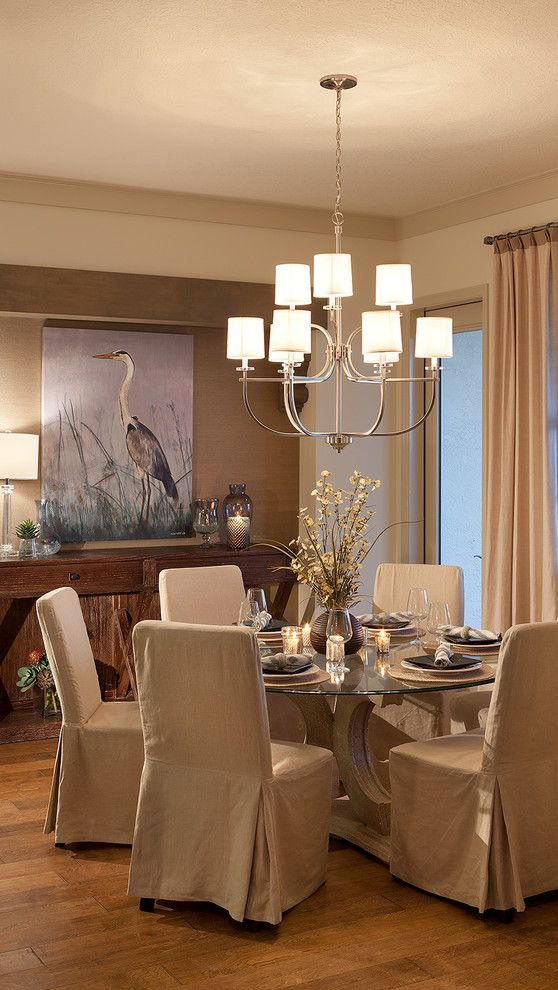 John Cannon Homes for a Traditional Dining Room with a Beige Wall and the Baylin by John Cannon Homes by John Cannon Homes