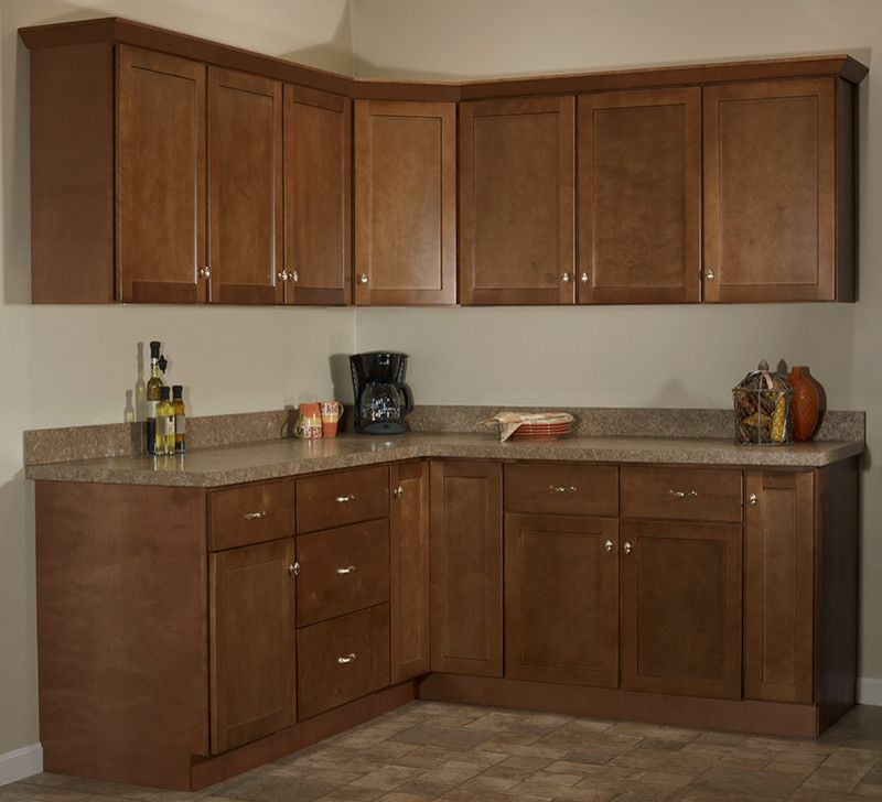 Jsi Cabinetry for a  Spaces with a Brown and Jsi Cabinetry by Designer Cabinets