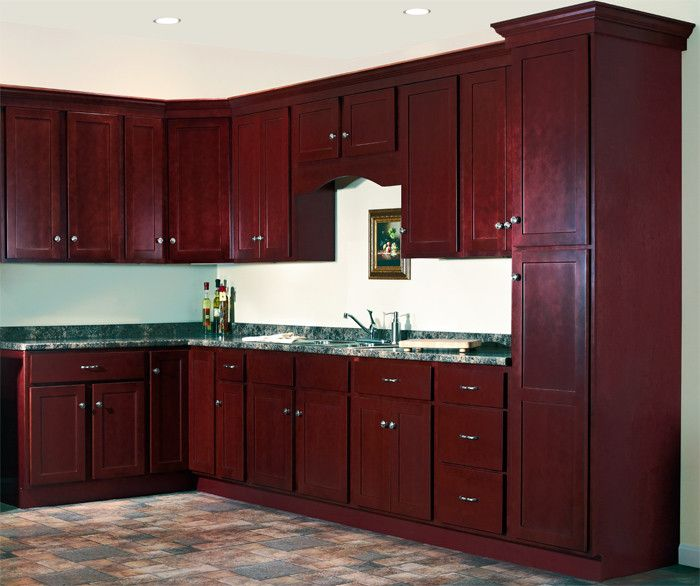 Jsi Cabinetry for a  Spaces with a Cherry and Jsi Cabinetry by Designer Cabinets