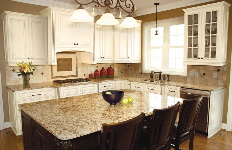 Kabinet King for a Traditional Kitchen with a Kabinetking Glass Mullion on Door and Kabinetking River Run Cabinetry by Kabinet King Usa Inc