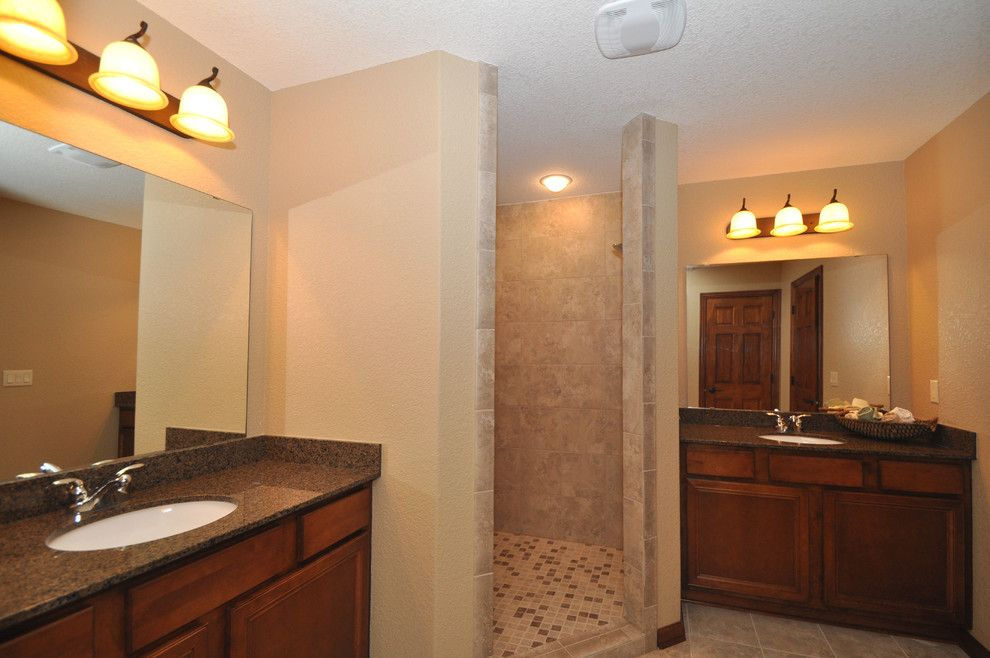 Kaerek Homes for a Traditional Bathroom with a Traditional and 2011 Barrington Parade Model by Kaerek Homes, Inc.