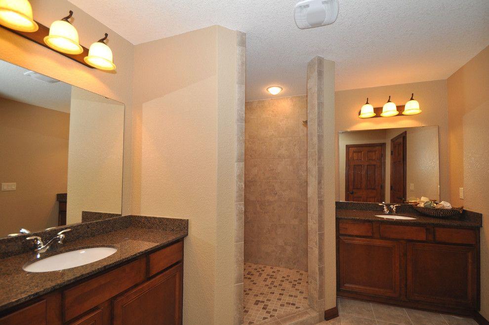 Kaerek Homes for a Traditional Bathroom with a Traditional and 2011 Barrington Parade Model by Kaerek Homes, Inc.