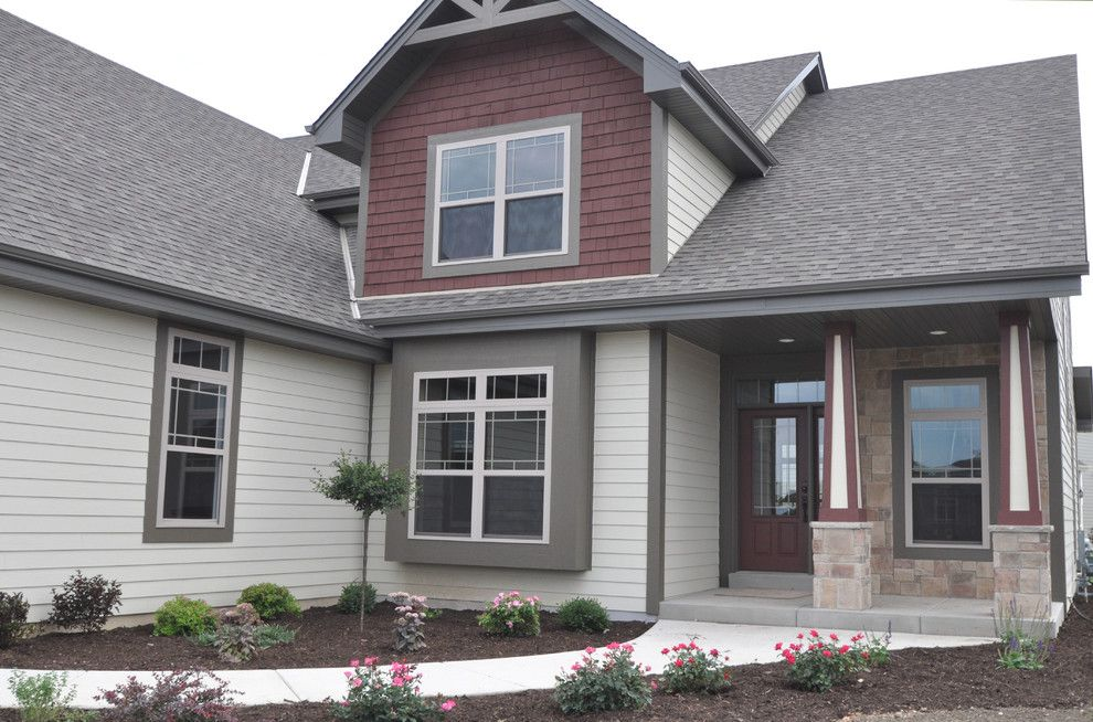 Kaerek Homes for a Traditional Exterior with a Traditional and 2011 Barrington Parade Model by Kaerek Homes, Inc.