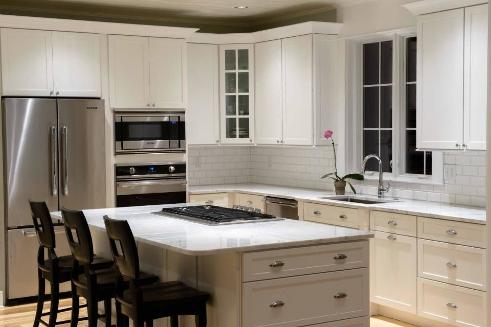 Kam Appliance for a Contemporary Kitchen with a Delaware Beaches and Southern Living Showcase Home   the Lewes Building Company by Johnny Janosik Inc