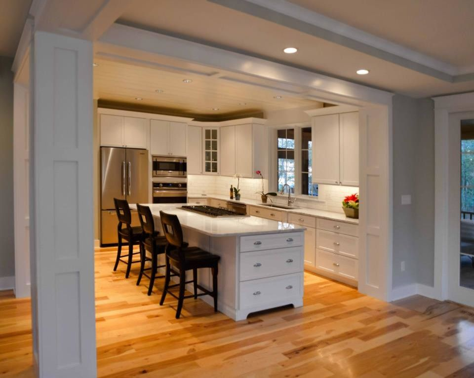 Kam Appliance for a Contemporary Kitchen with a Kousa Creek and Southern Living Showcase Home   the Lewes Building Company by Johnny Janosik Inc
