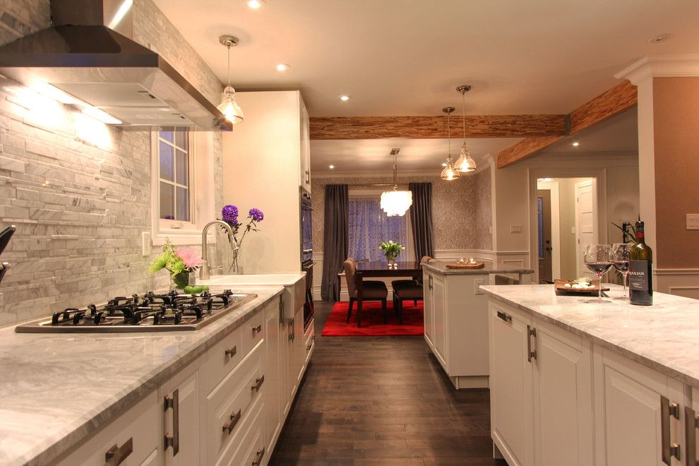 Kam Appliance for a Contemporary Kitchen with a Modern and Highway Ave   From Cat to That by Hedgeford & Berkley