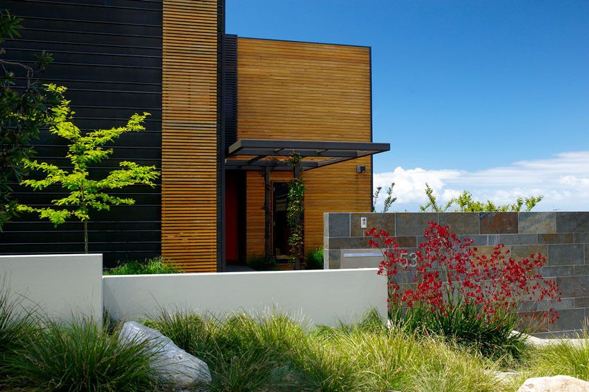 Kangaroo Paw Plant for a Tropical Landscape with a Tropical and Secret Landscape Design Oasis in Sydney by Designhunter
