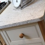 Kashmir White Granite for a Traditional Kitchen with a Traditional and the Charleston Shaker Kitchen by Beau Port Kitchens