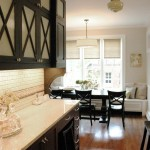 Kashmir White Granite for a Traditional Kitchen with a Window Seat and Kitchenlab by Rebekah Zaveloff | Kitchenlab