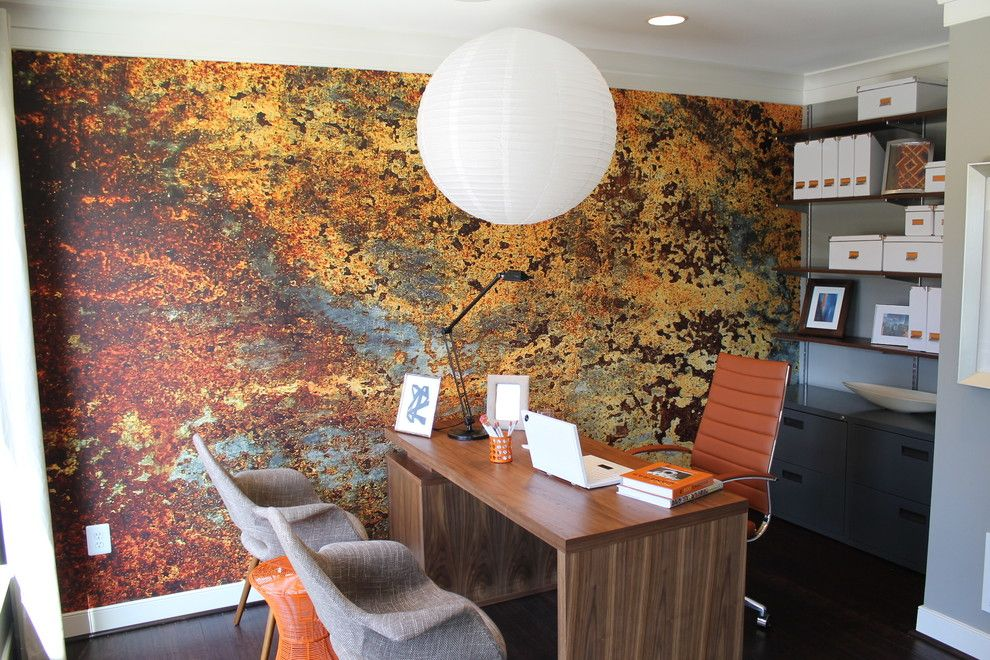 Keller Williams Nyc for a Contemporary Home Office with a Open Shelves and Eya Arts of Hyattsville by Reshawna Leaven, Realtor   Keller Williams Realty