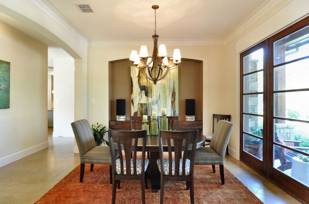 Kemiko for a Craftsman Dining Room with a Craftsman and Northfalls by Sterling Brook Custom Homes
