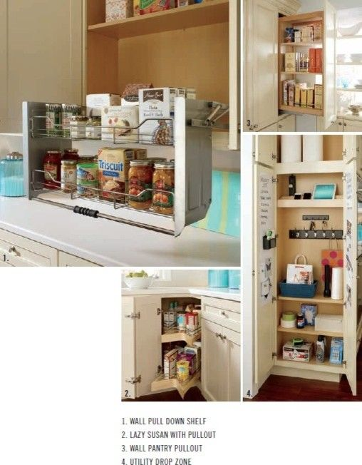 Kemper Cabinets for a Beach Style Spaces with a White Cabinet and Organization Options From Kemper Cabinets by a Direct Cabinet Distributor Corp