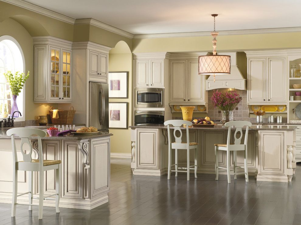 Kemper Cabinets for a Traditional Kitchen with a Chefs Kitchen and Kemper Cabinets Traditional by H.g. Page & Sons