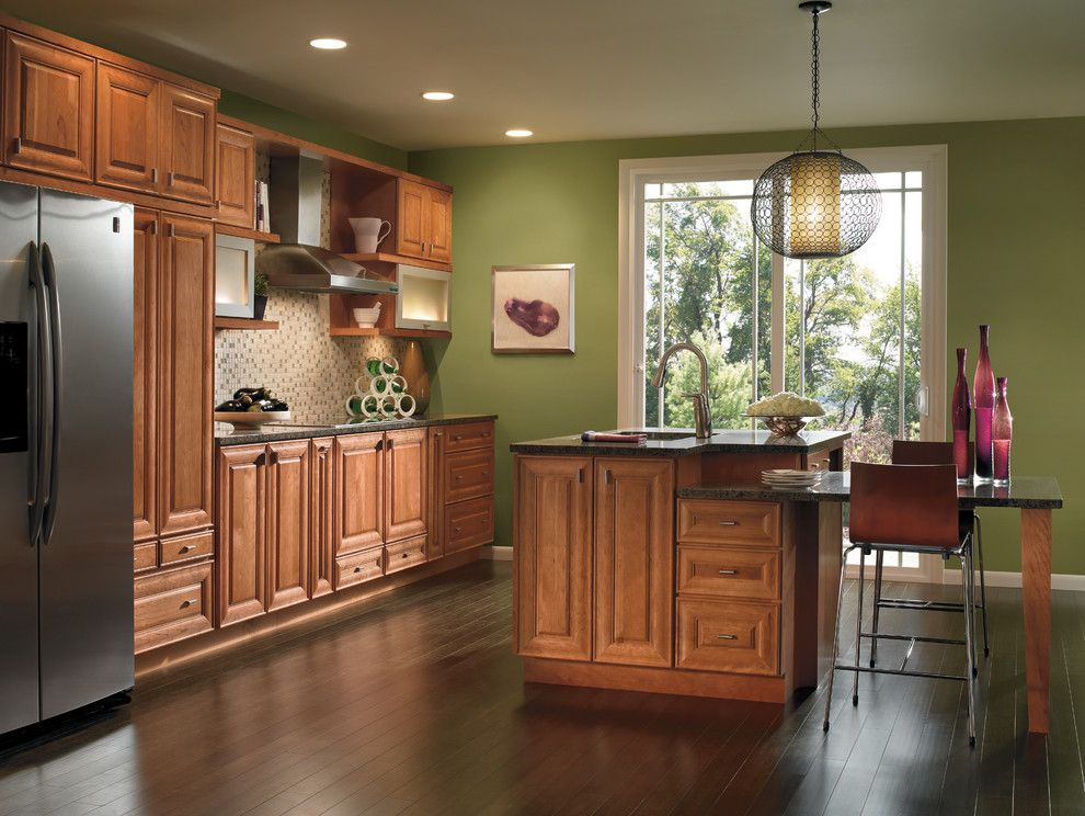 Kemper Cabinets for a Traditional Kitchen with a Transitional and Kemper Cabinets Traditional by H.g. Page & Sons