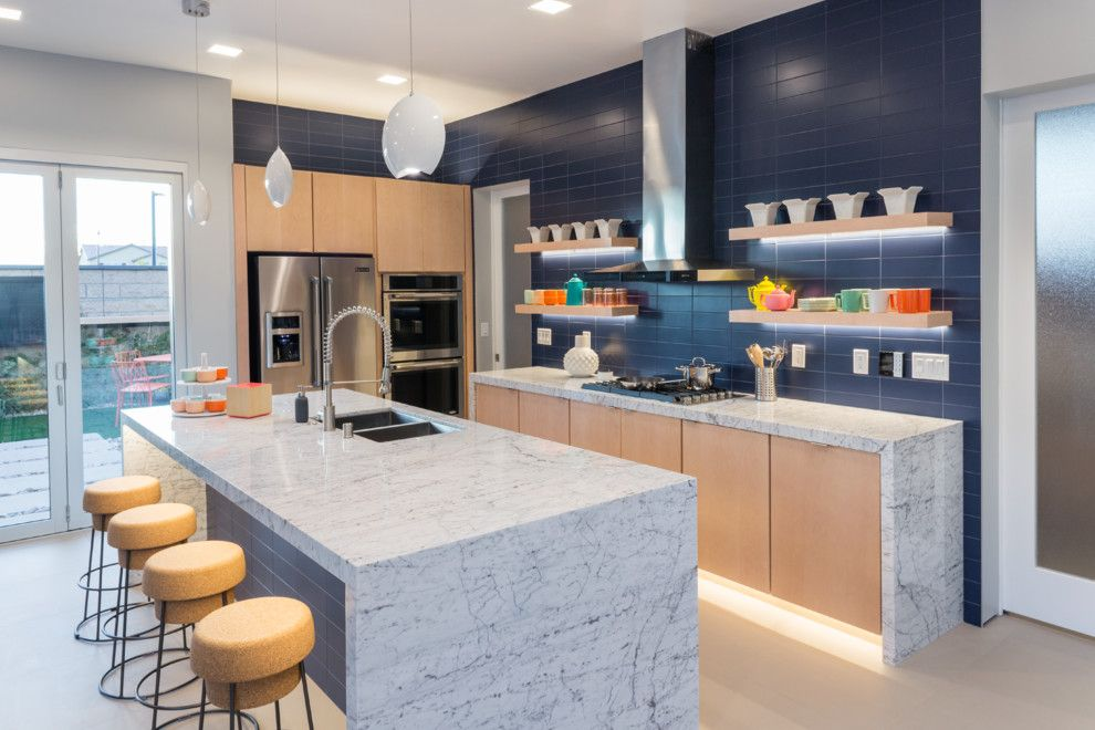 Kichen for a Contemporary Kitchen with a Contemporary and Contemporary Transitional Home by Responsive Home