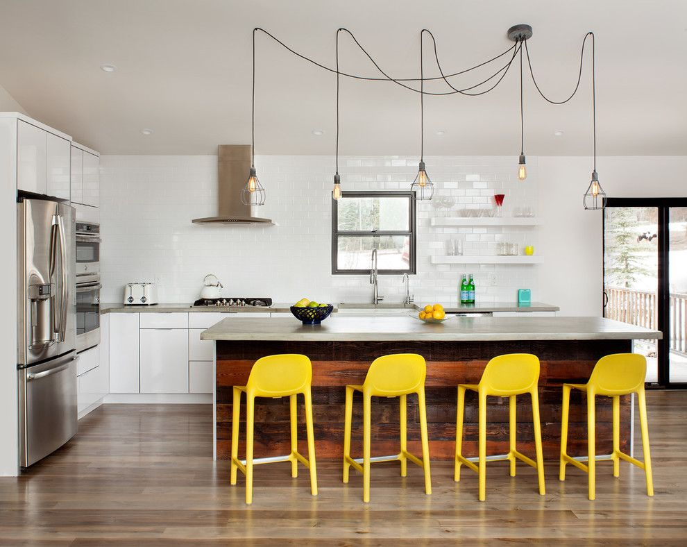 Kichen for a Contemporary Kitchen with a Pendant Lights and Modern Remodel by Mindful Designs, Inc.