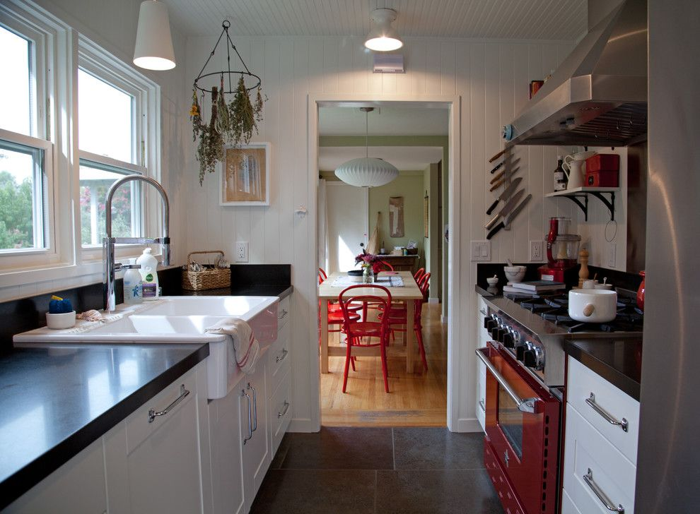 Kitchen Sink Lyrics for a Farmhouse Kitchen with a Apron Sink and Amy A. Alper, Architect by Amy A. Alper, Architect
