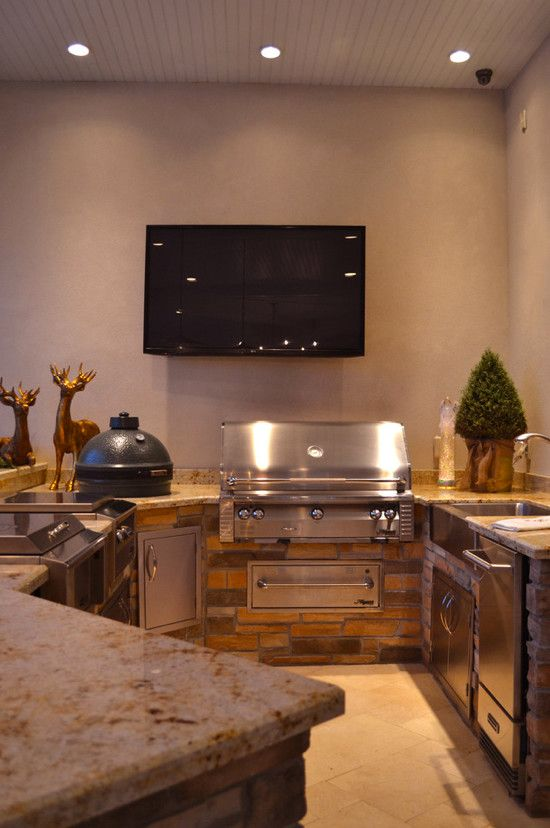 Kiva Kitchen and Bath for a Mediterranean Kitchen with a Appliances and Private Residence - Waterside - Gulfport MS by Kiva Kitchen & Bath Houston - Trevor Childs