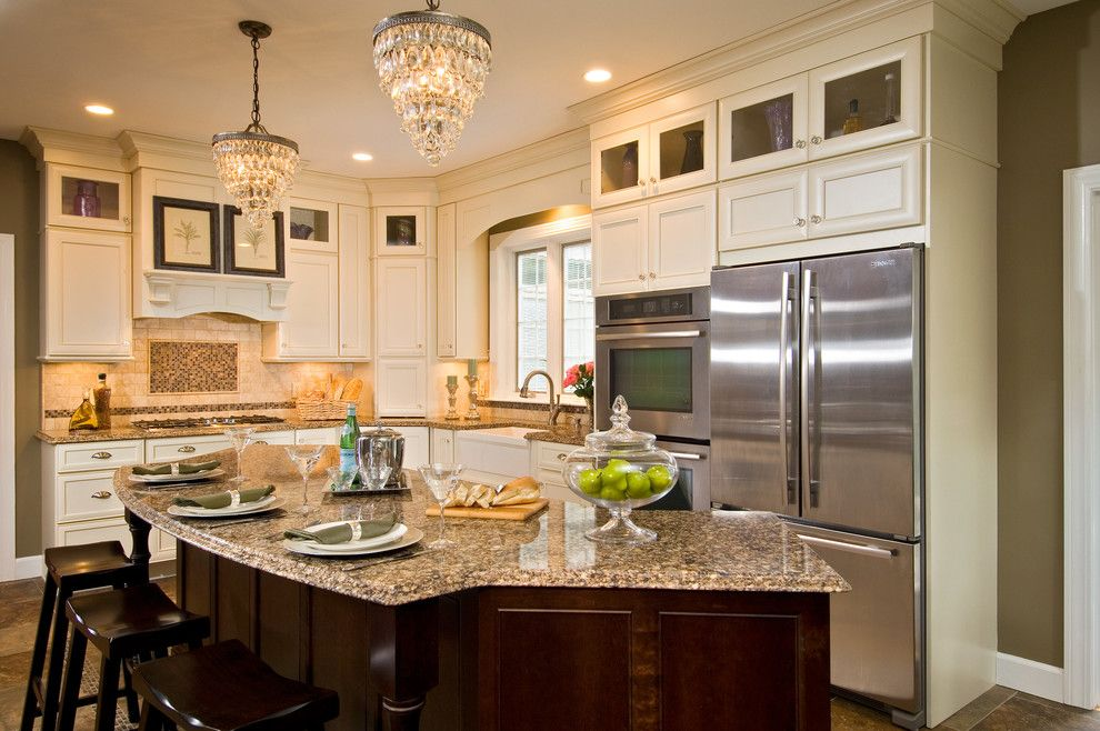 Kiva Kitchen and Bath for a Transitional Kitchen with a Transitional Design and Delmar Transitional by Kitchen and Bath World, Inc