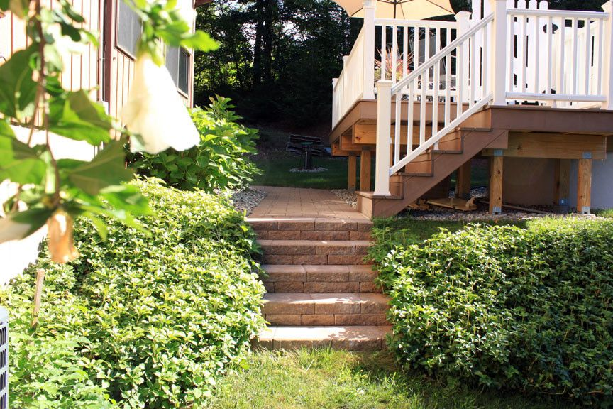 Kiyak for a  Spaces with a Block and Southington Walkway by Kiyak Hardscapes Llc
