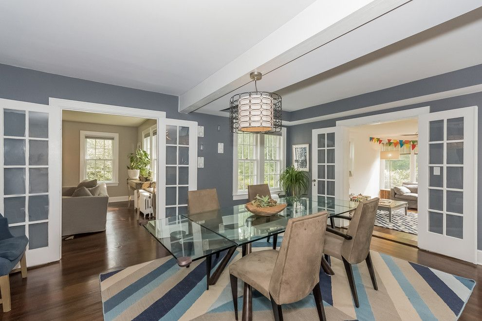 Klaffs Norwalk for a Transitional Dining Room with a Landscape and 160 Winfield Road, Norwalk, Ct by Jillian Klaff Homes