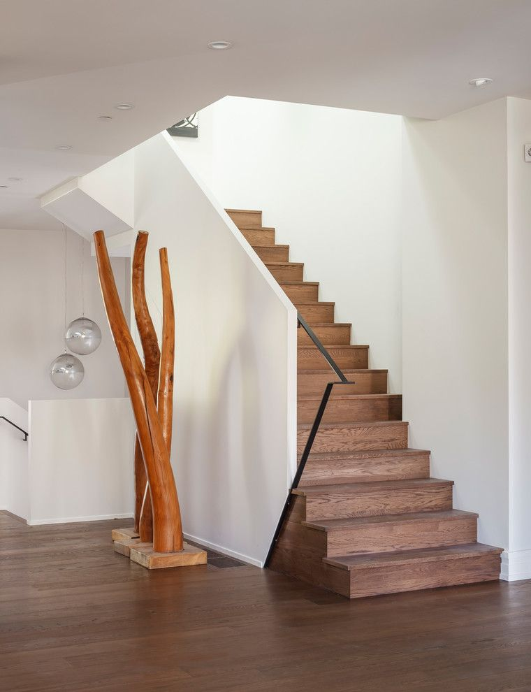 Knox Rail Salvage for a Contemporary Staircase with a Handrail and San Francisco by Ferguson Bath, Kitchen & Lighting Gallery