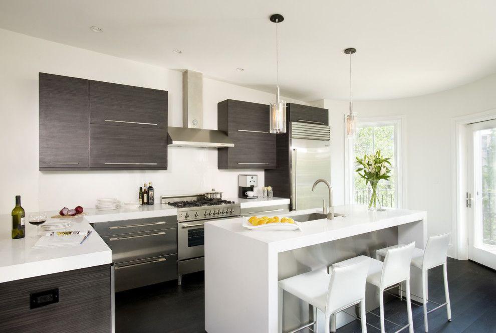 Kona Kitchen for a Modern Kitchen with a Island and Modern Kitchen by Melissa Miranda Interior Design