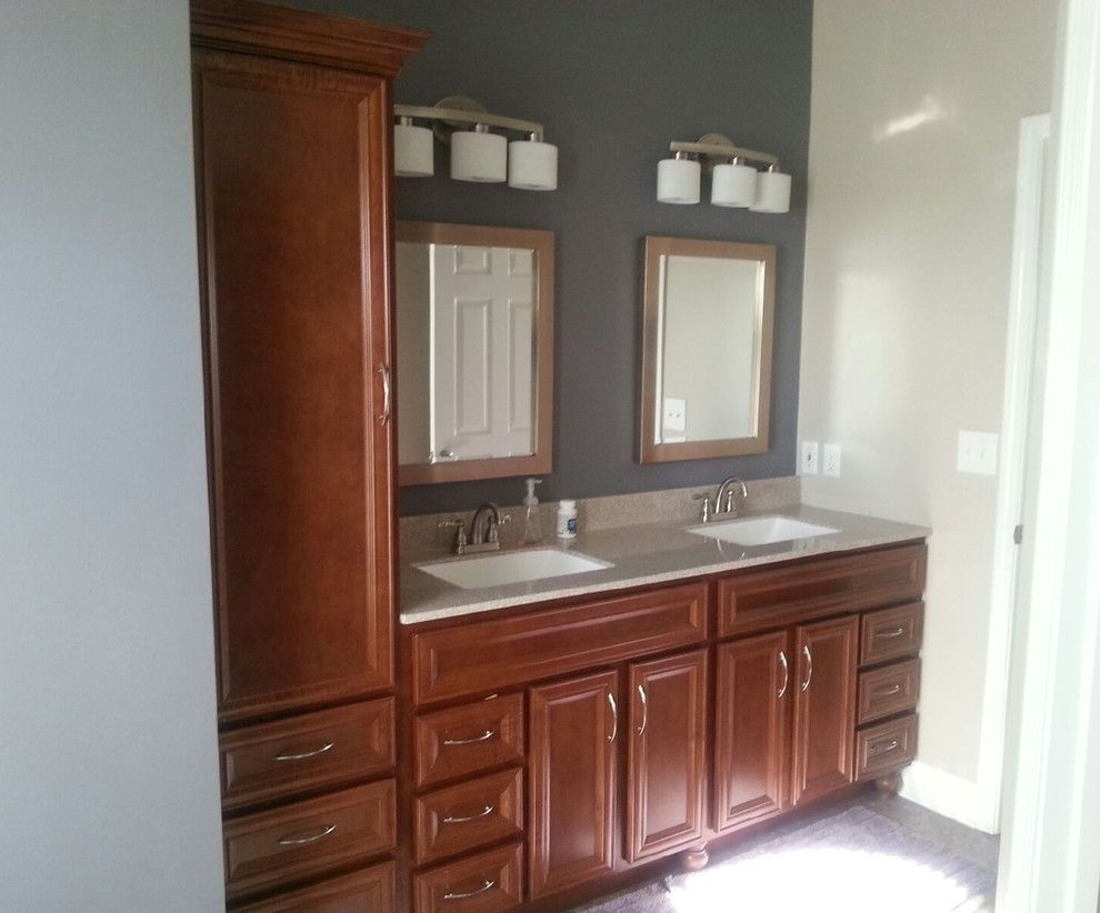 Kountry Wood Products for a Contemporary Bathroom with a Kwp and Kountry Wood Products