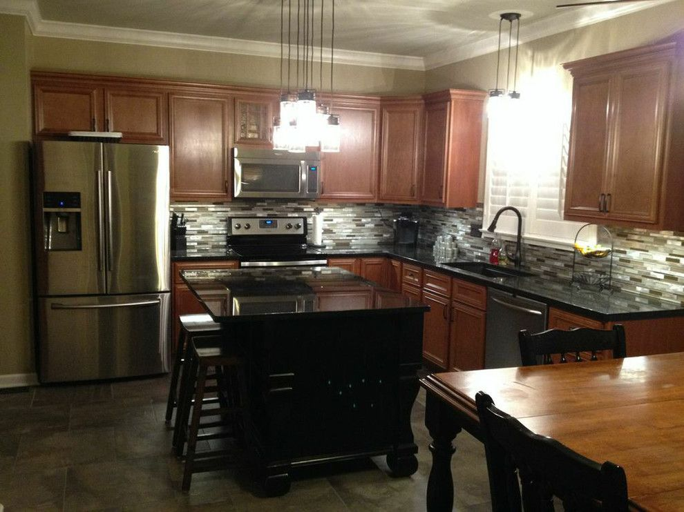 Kountry Wood Products for a Contemporary Kitchen with a Lifestyle Kitchens and Baths and Kountry Wood Products