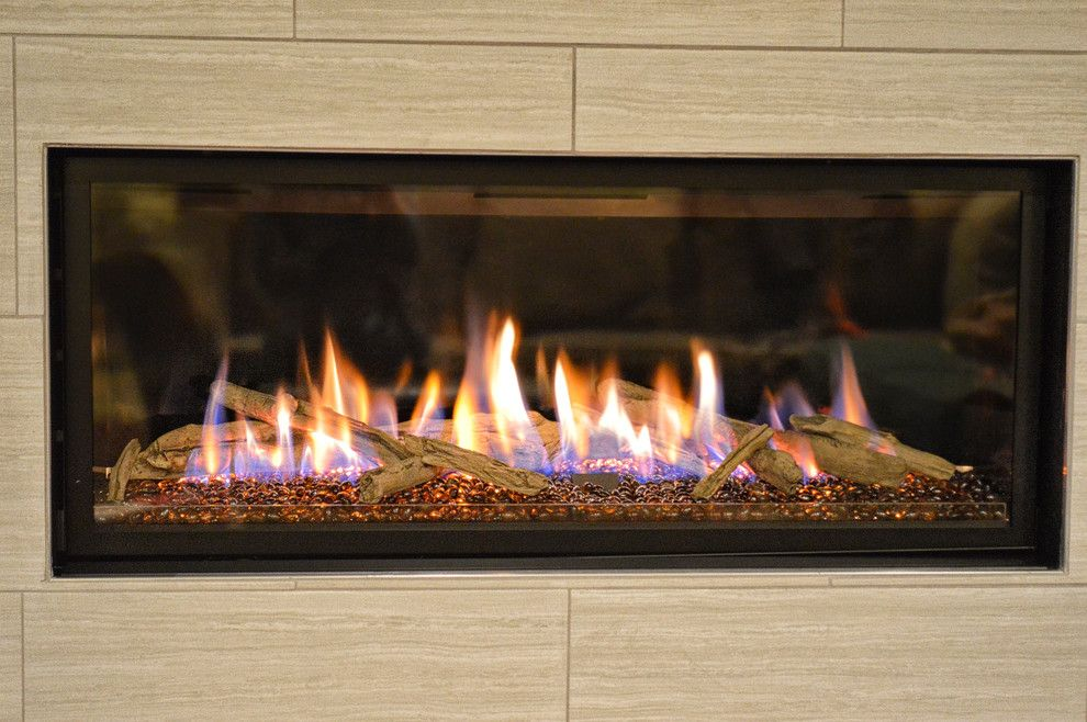 Kozy Heat for a Contemporary Spaces with a Contemporary Fireplace and Contemporary Linear Fireplace by Ember Fireplaces
